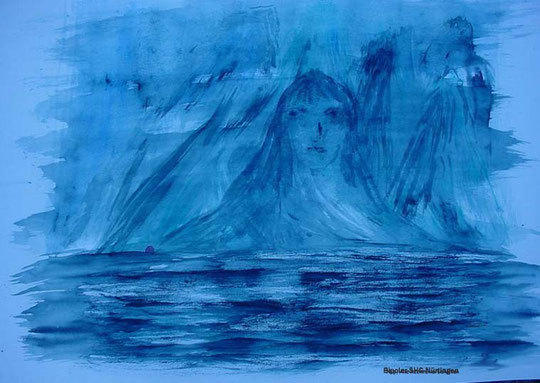 """Melancho Blumenbunt: """"Icebound"""" (Eingefroren)"""