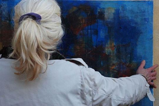 La galerie de tableaux d'Isabelle Cornac