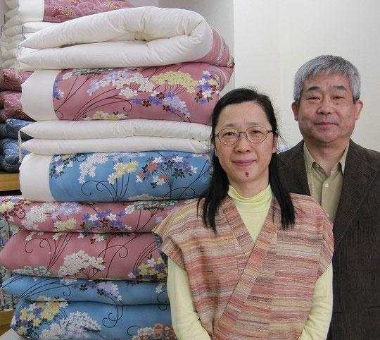 1953年創業 二代目店主です。綿ふとんにとことんこだわります。