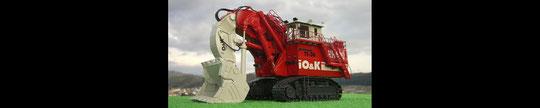 TEREX O&K RH-400 11-36 超大型ローディングショベル