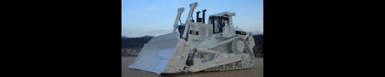 CATERPILLAR D-11R  ブルドーザー (ホワイト)