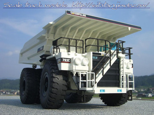 CATERPILLAR 793C WHITE