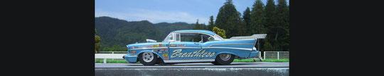 ダンバリーミント 1957 Chevy Pro Street Super Comp