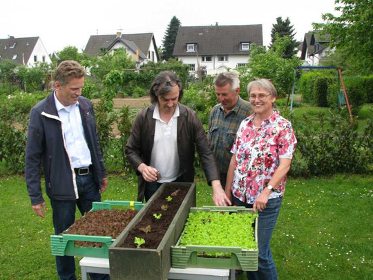 Herr Schlömer, Herr Steinmetz, Herr Heidrich, Frau Stahn