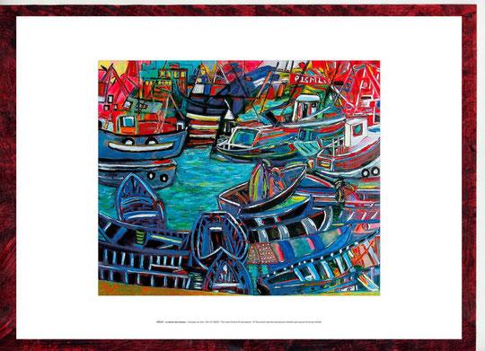La Danse des bateaux 2007 original vendu
