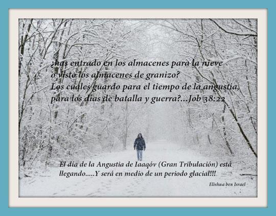 ¡Hay! porque grande será aquel día, no hay otro semejante a él, es tiempo de Angustia para Iaaqóv, mas de ella será librado....(Irmiahu 30:7)