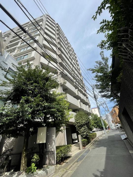 クレッセント渋谷神泉の渋谷方面(東側)住戸