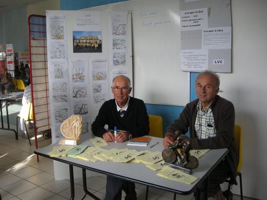 Jean-Paul et Georges prêts à donner les renseignements ...