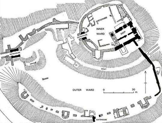 Norham Castle Foor Plan