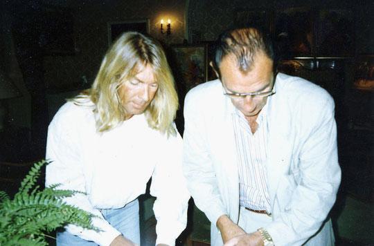 Avec mon ami Jean Cau.