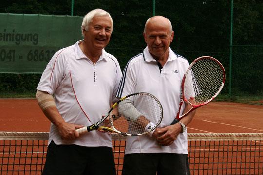 Vor sechs Jahren gab es das Endspiel zwischen Sigi und Werner schon mal und auch damals hatte Werner das bessere Ende auf seiner Seite...