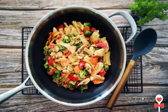 Thai Curry im Wok von Pampered Chef