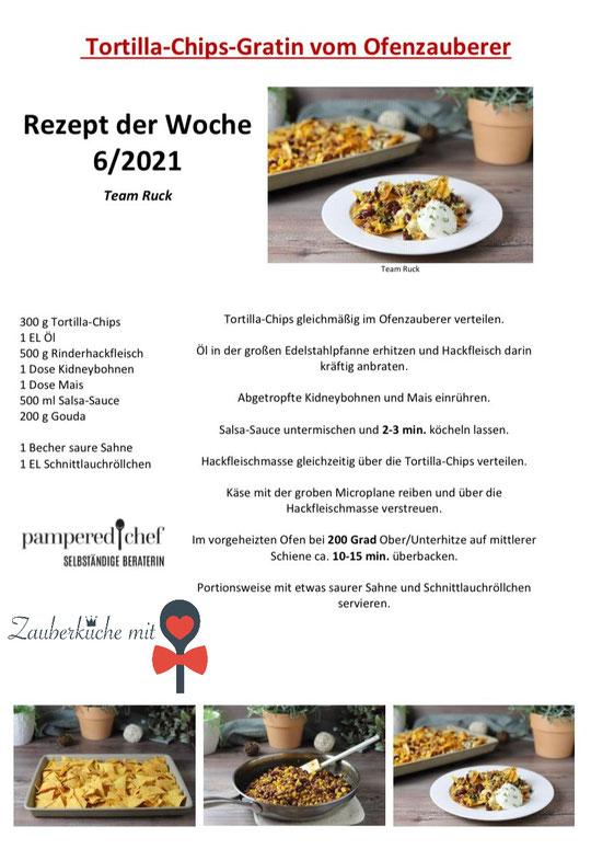 Ofenzauberer von Pampered Chef®, Rezept der Woche, Zauberküche mit Herz, Blog Rezepte Stoneware