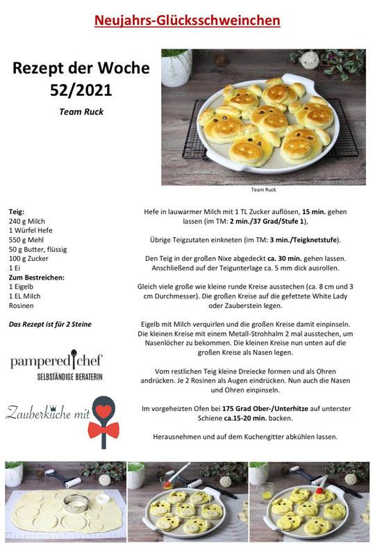 Pampered Chef Rezepte, Schokoladenkuchen, Runde Stoneware