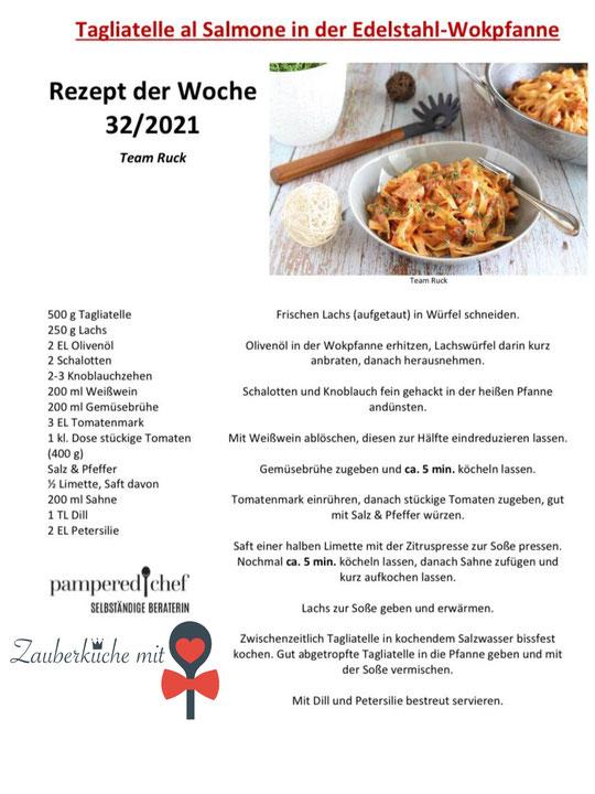 Pampered Chef Rezepte, Wok Rezepte, Pasta Gericht