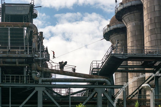 LaPaDu, Landschaftspark, Duisburg, Industrie, Bild, Foto, Fotografie