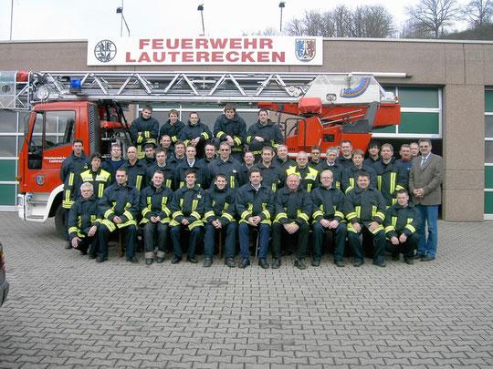 Gruppenbild der FF Lauterecken 2009