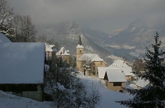 Le hameau de la Ruchère