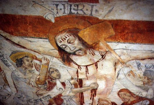 Détail de cette Crucifixion