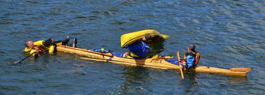 Stage Kayak de Mer Eté 2014
