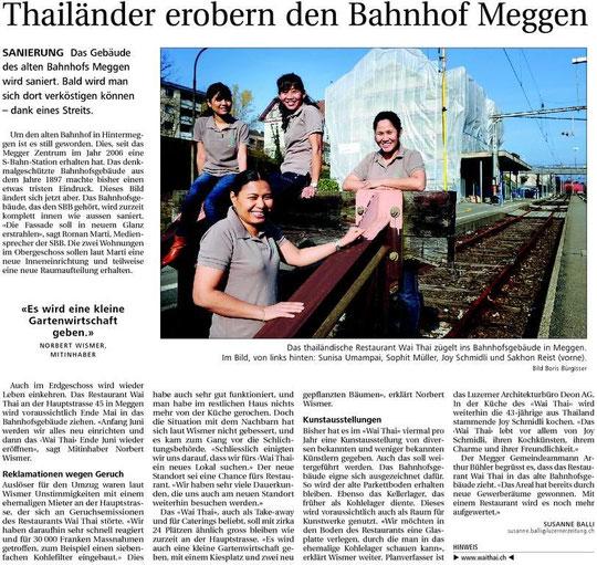 Neue Luzerner Zeitung vom 24.2.2011