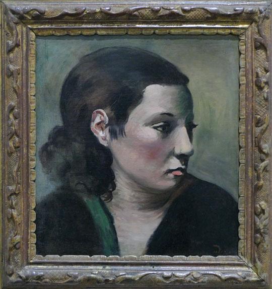 André Derain : portrait de femme