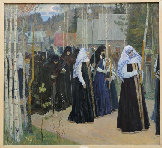 Mikhail Nesterov (1862-1942) : la prise de voile