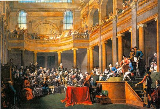 La Consulta de 1802 à Lyon par le peintre Nicolas-André Monsiau
