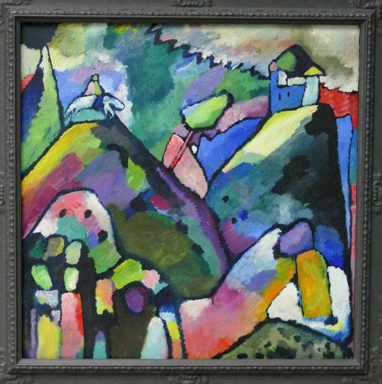 W. Kandinsky : improvisation 9