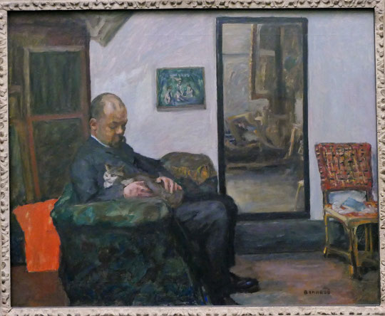 P. Bonnard : portrait d'Ambroise Vollard, 1904-1905