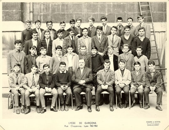 1962-1963, classe de 3e