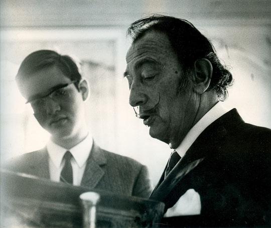 1967 avec Salvador Dali