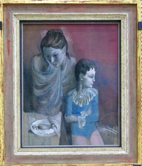 P. Picasso : mère et enfant, 1905