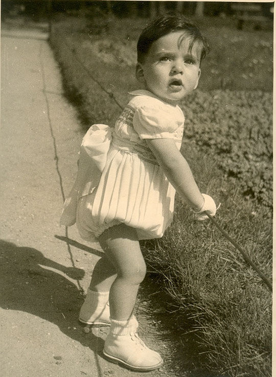 mai 1949 au Parc de la Tête d'or