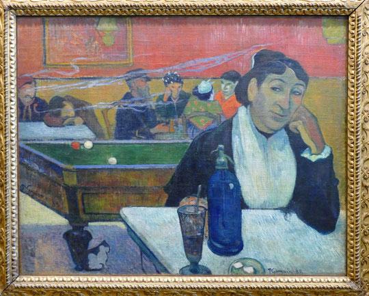 Paul Gauguin (1848-1903) : café en Arles