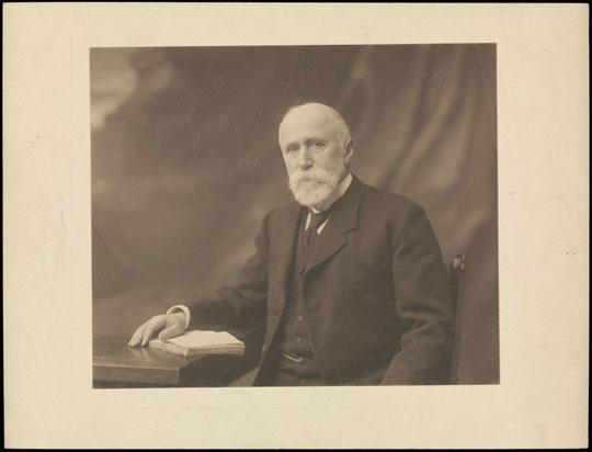Joseph Gillet vers 1900