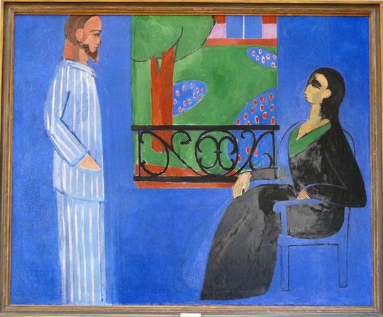 Henri Matisse (1869-1954) : conversation