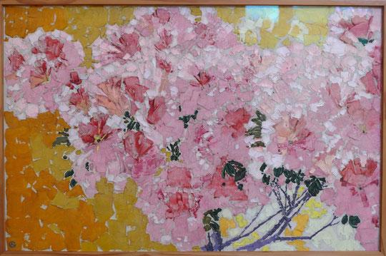 Augusto Giaconetti : azalée en fleurs, 1911
