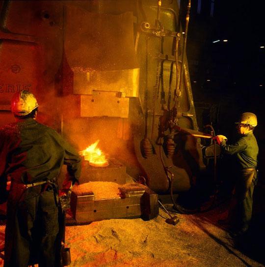 La forge à Vénissieux 1983