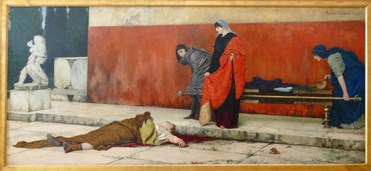 Vasily Smirnov (1858-1890) : mort de Néron