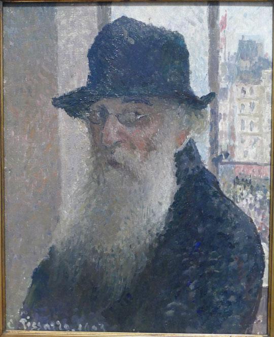 Camille Pissarro : autoportrait, 1903