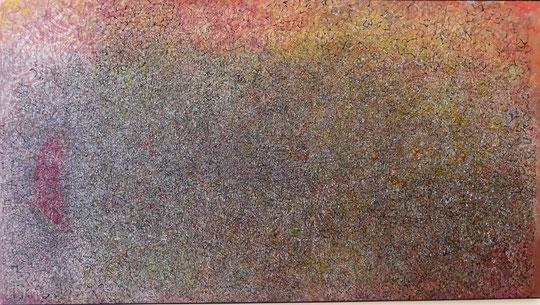 Mark Tobey : sagittaire rouge, 1963