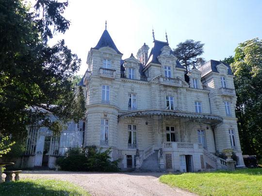 Notre logis à Saumur, le Château Bouvet-Ladubay, photo Annie Bentolila