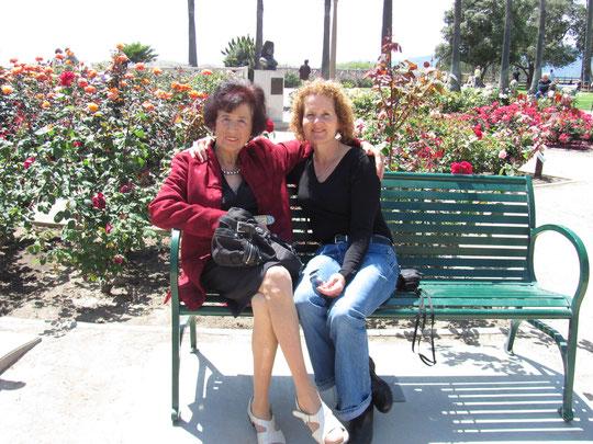 Jacqueline avec sa tante Liliane