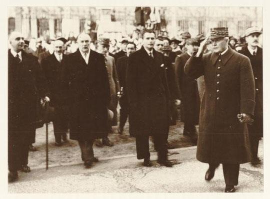 le Maréchal Pétain à Lyon en novembre 1940