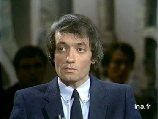 René Belletto en 1981, invité de Bernard Pivot à Apostrophes