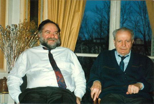 Avec Eugène chez lui