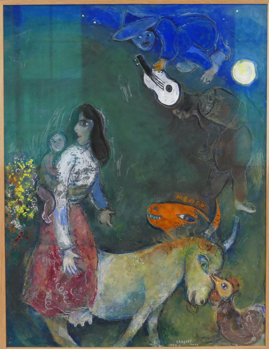 M. Chagall : la guitare endormie, 1942-43