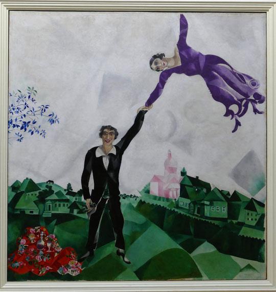 Marc Chagall (1887-1985) : promenade