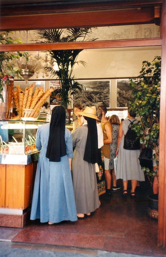 Dans Florence, août 1996